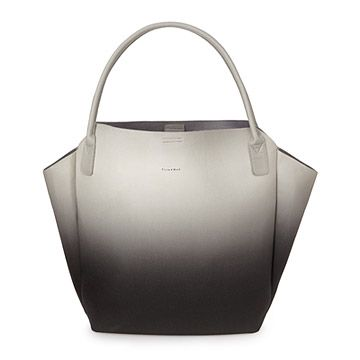 Look what I found at UncommonGoods: Black and Grey Ombre Tote for EUR 58.60