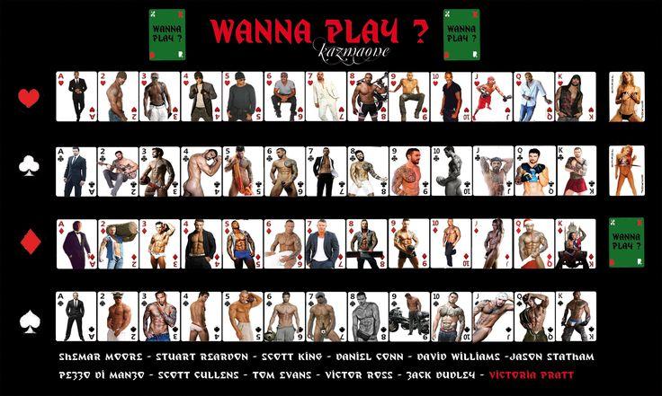Set of cards - with Scott King, Shemar Moore, Stuart Reardon, Daniel Conn, Victoria Pratt, Jason Statham, Scott Cullens, Victor Ross, ...