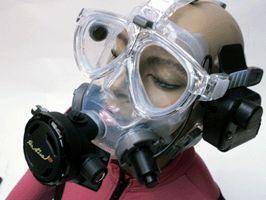 Alternative Scuba Dive Mask | Scuba Mask | Scuba Diving Masks | The Air Line Hookah by J. Sink