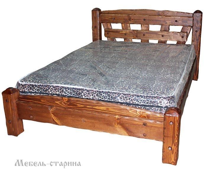 Если вы хотите купить кровать под старину, выполненную из сосны - смело обращайтесь в нашу фирму.