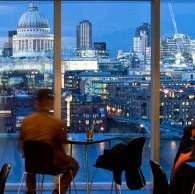 Tate Modern Restaurant - Fantastic views from Level 6 of the iconic modern art gallery.