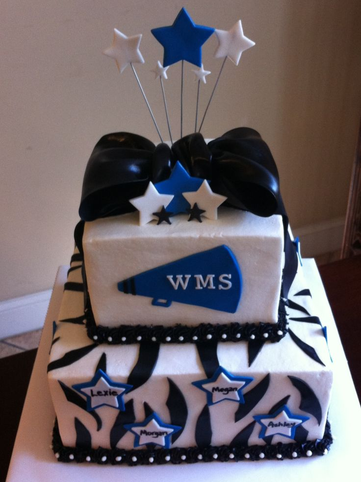17 Best Images About Cheerleader Cakes On Pinterest