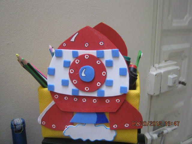 cohete portalapices