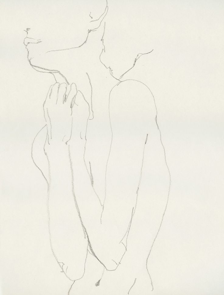Contour Line Drawing Figure : Zsazsa bellagio like no other the human form