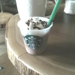 Samples @starbucks Amsterdam. Frappuccino!