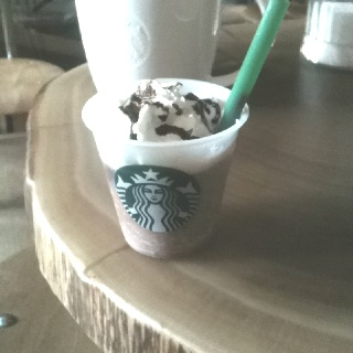 Samples @starbucks Amsterdam. Frappuccino!