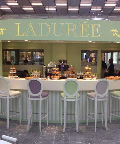 Ladurée | Ladurée Shops - My first stop of the day