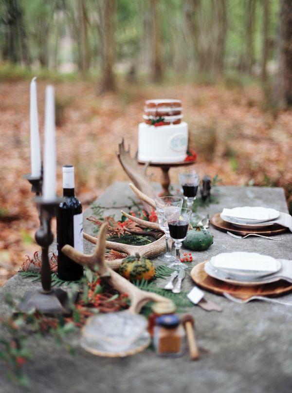 Enchanted Forest Wedding Ideas : Bajan Wed