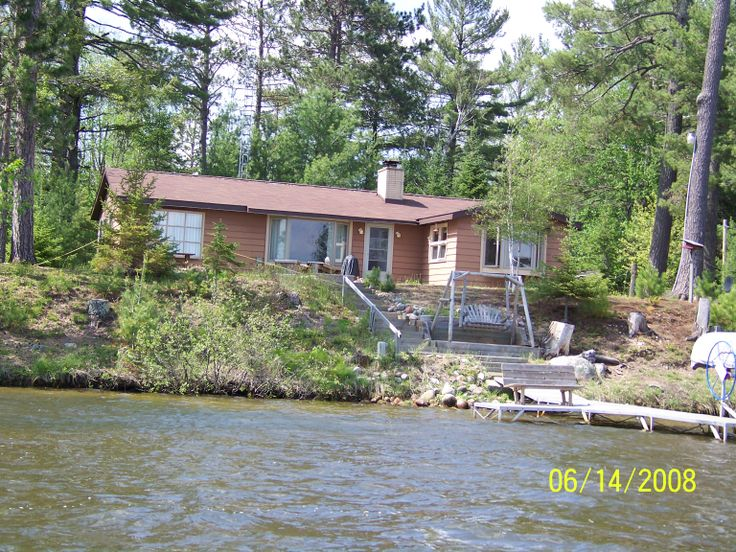 The Knoll House on Found Lake. St. Germain WI 3 bedroom 1