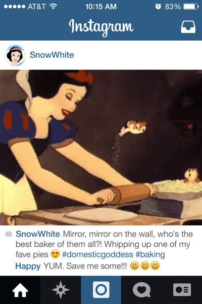 If Disney Princess Had Instagram - Disney Princesses Reimagined - Seventeen