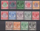 Straits Settlements 1936 Mint Mounted Set to $2