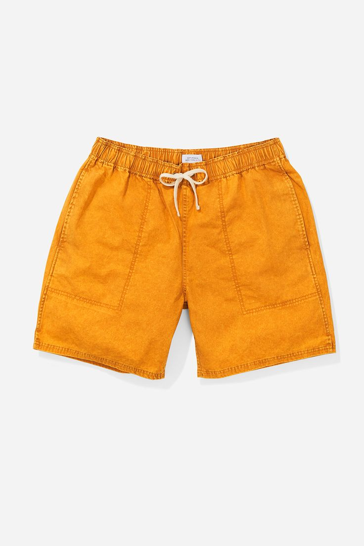 Ritchie Mineral Wash Short, Dusty Amber