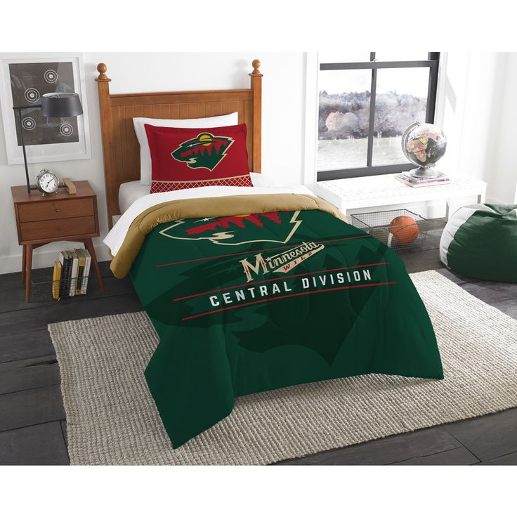 The Northwest Company NHL Wild Draft 2-piece Comforter Set