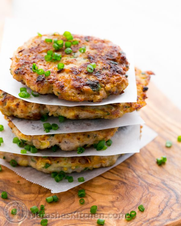Chicken Zucchini Fritters Recipe