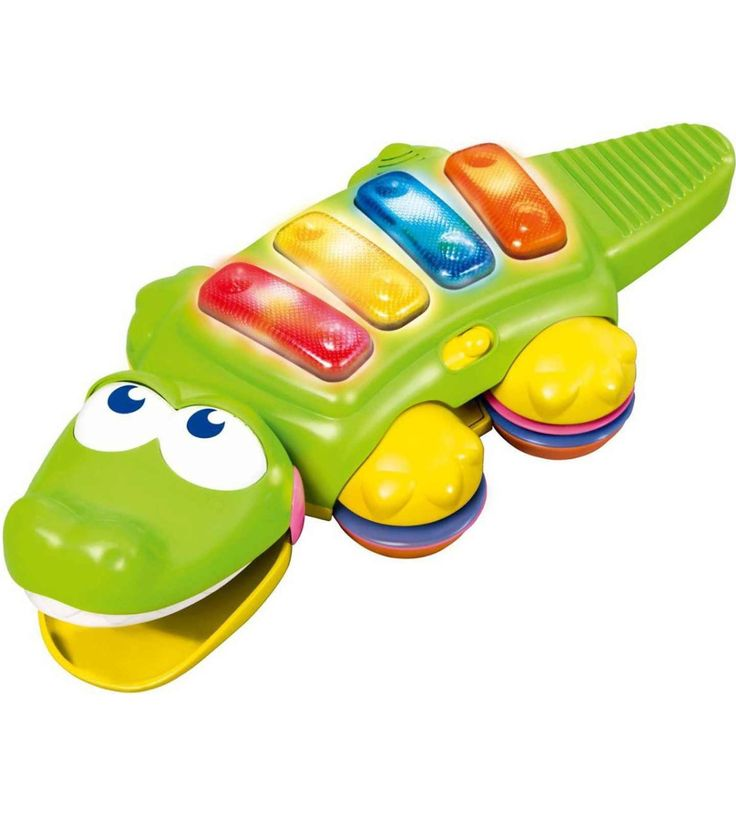 B KIDS CROC ROCK XYLOPHONE  Assorted Colour – The color of some product parts may vary from what is shown in the image  Key Features of B KIDS CROC ROCK XYLOPHONE  2 music rattles 3 musical light up keys Cute Crocodile shape Suitable for both boys and girls Age: 6 months and above  B KIDS CROC ROCK XYLOPHONE  B kids Croc Rock Xylophone features crocodile keyboard with colorful light-up musical buttons and musical sounds. This development toy will attract kids and help in their sens