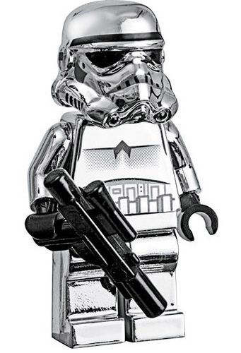 LEGO Star Wars Silver Storm Trooper by Mostly Bricks. BUY ME THIS