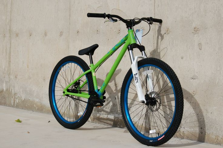 Norco Ryde Green Blue 2 26 Inch Mtb Dirt Jump And