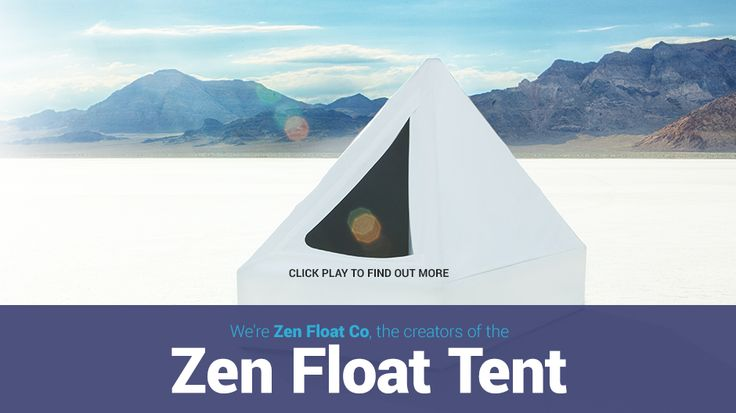 The world's first affordable sensory deprivation tank, floating at home is  now a reality!