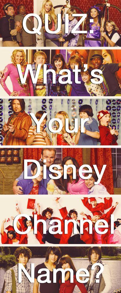 QUIZ: What's Your Disney Channel Name? I'm liv zuri maddie sonny Emma rocky chloe
