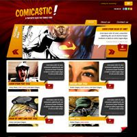 Create a Comic Book Themed Web Design, Photoshop to HTML + CSS (Part 2)