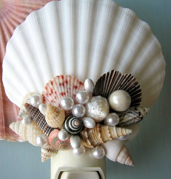 357 best diy seashell crafts images on pinterest Diy home decor with shells