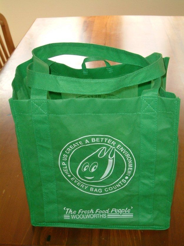 A green eco bag which you never remember to take shopping, so it just sits sadly by your front door. I don't know anyone who doesn't have these XD