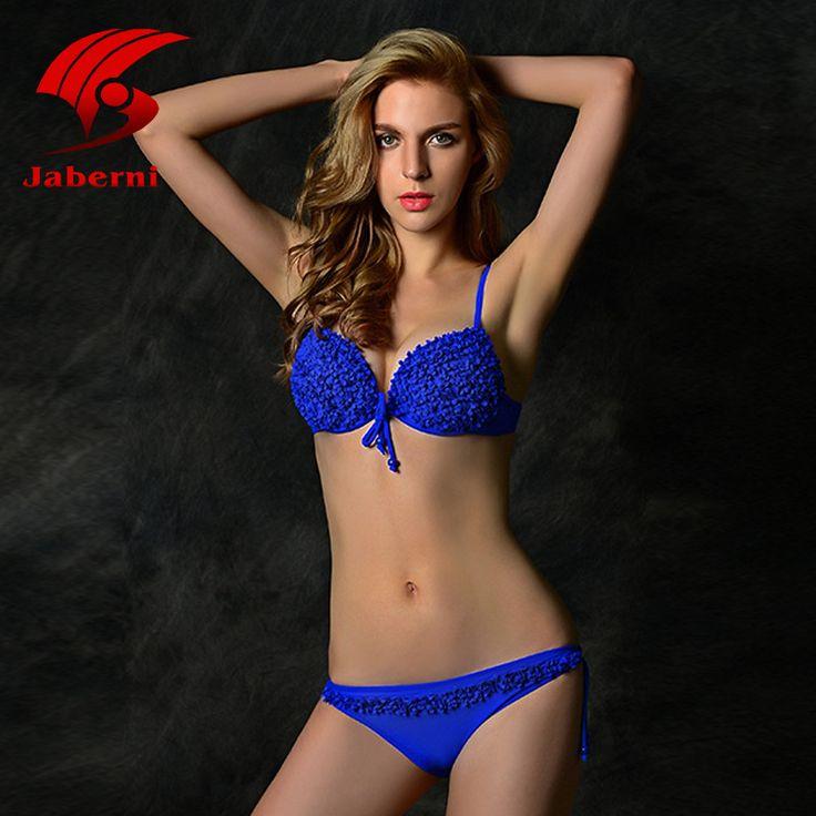 Summer Style Solid Women Brazilian Swimsuit Bright Push Up Swimwear Floral Bikini Set Brand Ladies Bathing Suit Beach Wear