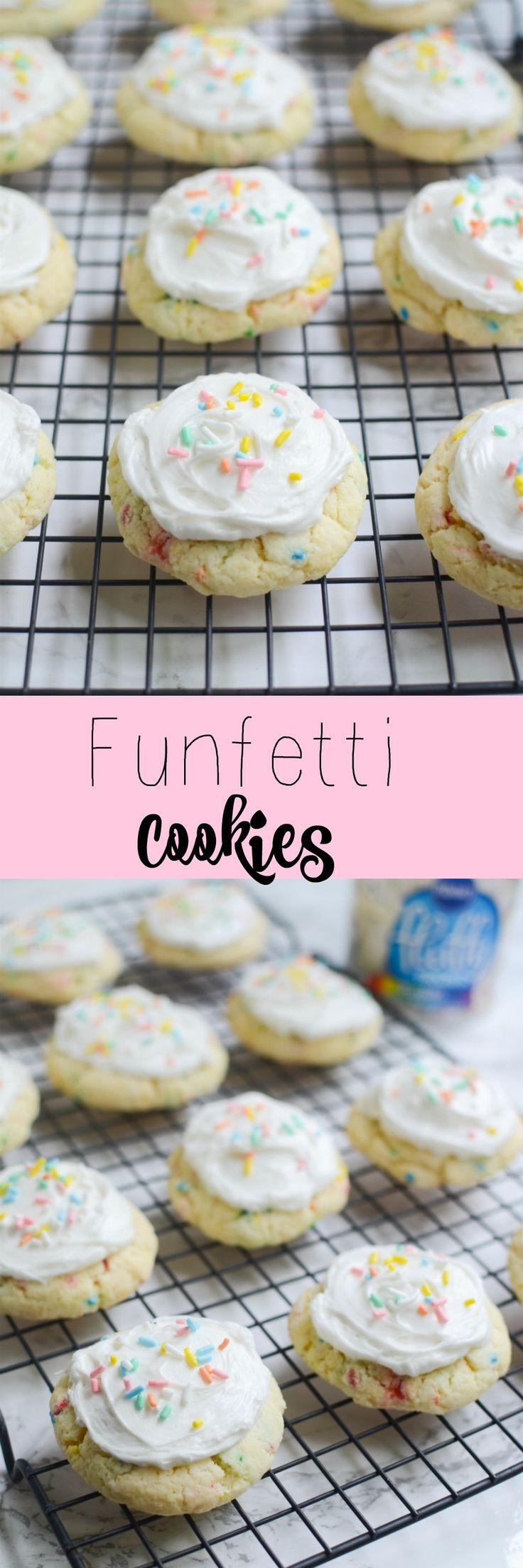 Funfetti cake mix cookie recipes