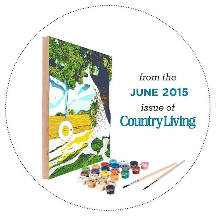 Country living kit june 2015 easy 123 art country for Easy 123 art com country living