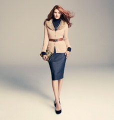 want this leather pencil skirt so bad! sold out in my size :(