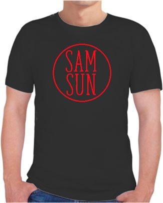 Samsun Logo Kendin Tasarla - Erkek Bisiklet Yaka Tişört