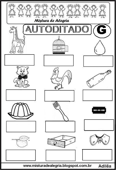 www.misturadealegria.blogspot.com.br-autoditado+G-imprimir-colorir.JPG (464×677)