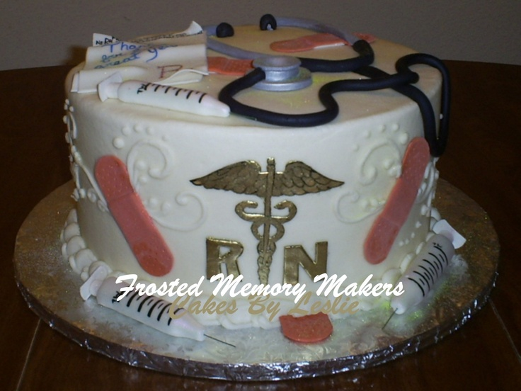 Nursing Cake Decoration Ideas : 29 best images about Nurse Party Ideas on Pinterest