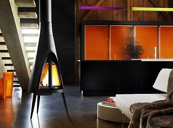 Tipi | Oblica Melbourne | Modern Fireplace Designs