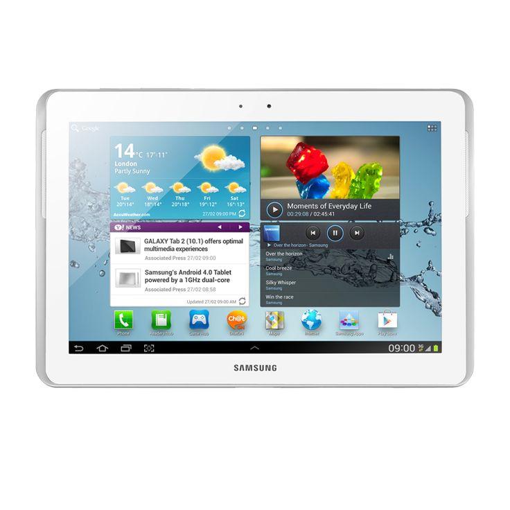 Samsung GT-P5100 Galaxy Tab 2 10.1 3G Tablet 16GB WHITE EU