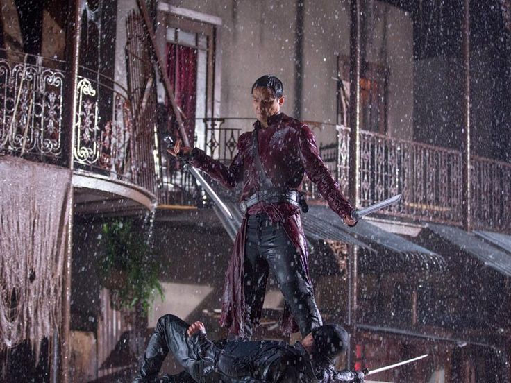 """""""Into The Badlands"""" New show on AMC premiered 11/15/2015"""