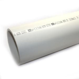 JM eagle 6 in. x 10 ft. PVC Schedule 40 DWV Foamcore Plain End Pipe 10181 at The Home Depot - Mobile