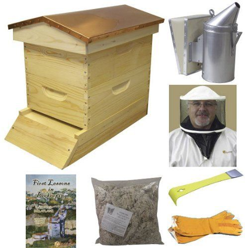 Garden Hive Bee Hive Starter Kit (Assembled - Wood) by BuildaBeehive.com. Save 17 Off!. $299.99. NEW! Our Garden Hive Bee Hive Starter Kit is a great way for the beginning beekeeper to start his or her first colony of bees in style, and provides hours of enjoyment watching your bees at work in your garden!Our select grade wood is hand selected and assembled for your beekeeping adventure. This decorative 8 frame garden hive will look wonderful in your flower garden or back yard....
