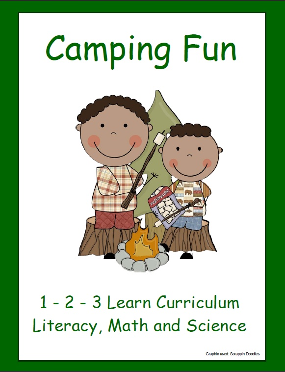 Camping Fun Literacy Math And Science