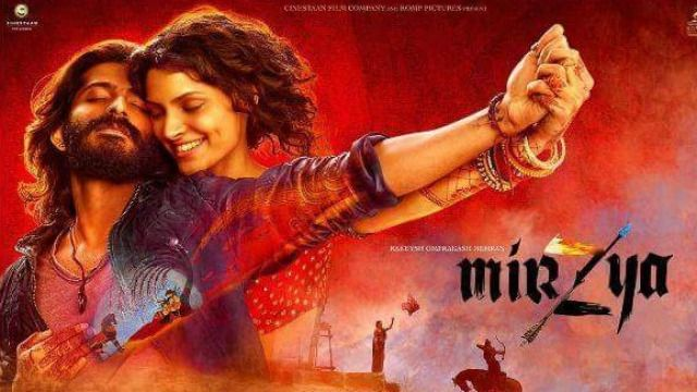 #Mirzya is a story depicting three parallel narratives situated in the desserts of Rajasthan amidst a blast of colours, music and royalty.   Watch Tanvi's take on #Mirzya and find out if it's a #Go or #NoGo! https://youtu.be/1w9zMT0FQXI