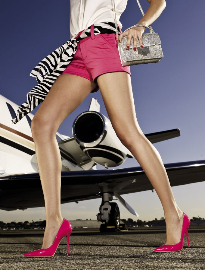 Jimmy Choo women are ready for anything. Where do your Choos take you?