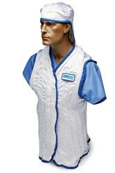 Hooded CoolVest | The Hooded CoolVest has over 70 feet of thin wall, non-kink tubing sewn in both the front and back of the CoolVest for use under lead aprons. Comfort is essential to surgeons working under intense pressure, performing hundreds of high-risk procedures in a year. The Hooded CoolVest will help surgeons and medical staff stay cool and focused while working in the operating room. | http://www.universalmedicalinc.com/Hooded-CoolVest-p/cvh.htm