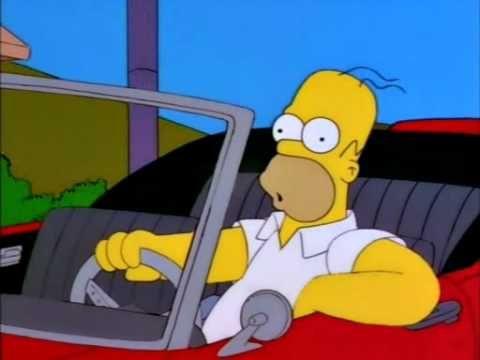 Homer Simpson singing 'Luka' (Suzanne Vega)