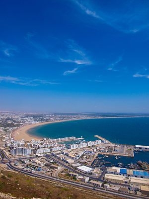 The view from the Kasbah - Agadir - Maroc Désert Expérience tours http://www.marocdesertexperience.com