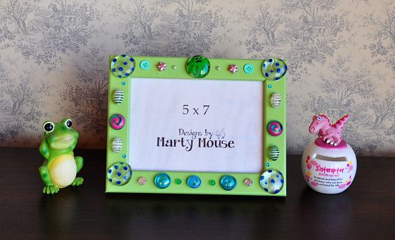 Octopus Picture Frame/5x7 Frame/Kids Picture Frame/Funky