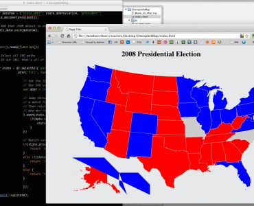 How to Make Choropleth Maps in D3 (even if you don't know what a choropleth map is)