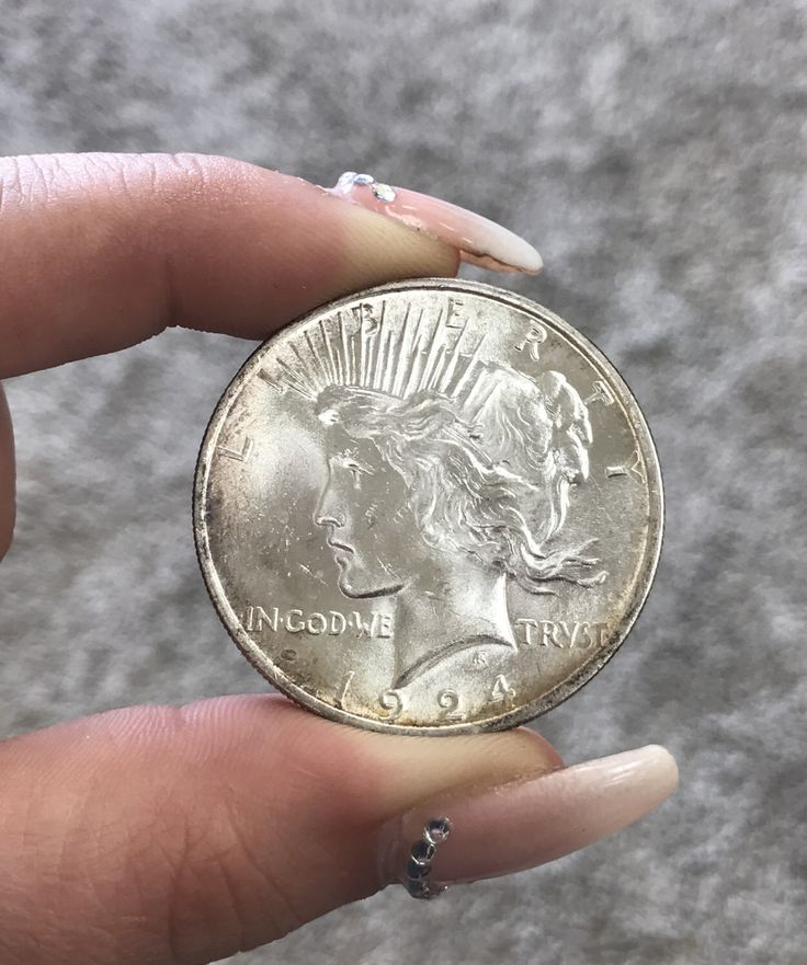 1924 P Peace Dollar Blast White Superb Luster by CoinLovers on Etsy https://www.etsy.com/listing/506770332/1924-p-peace-dollar-blast-white-superb