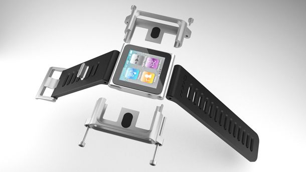 Okay. This is really neat. An Ipod watch. WOW!