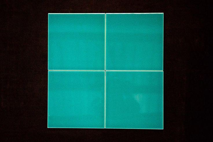 Ceramica da rivestimento verde esmeraldo cristallino 20*20 - Ceramiche Zanibellato
