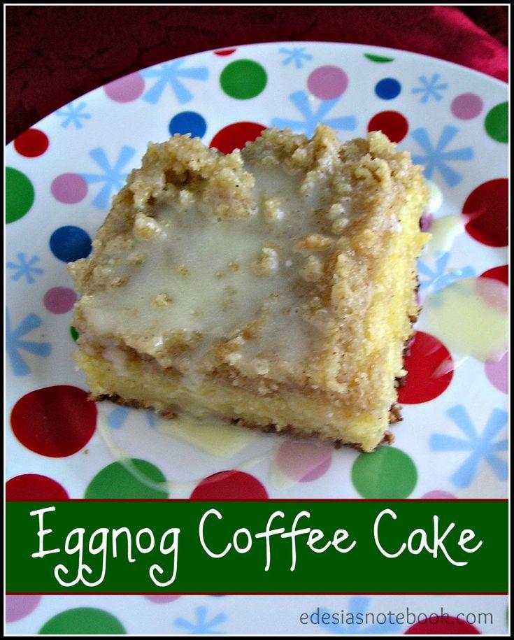Coffee Cake With Eggnog